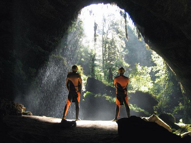 underground rafting