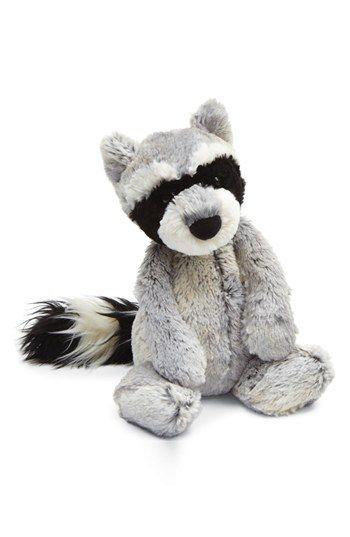 Jellycat 'Woodland Babe - Raccoon' Stuffed Animal available at #Nordstrom