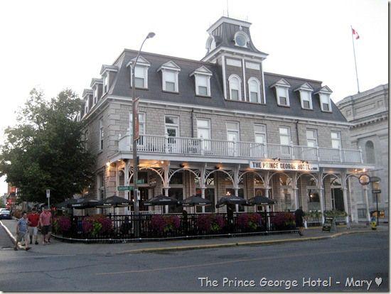Prince George Hotel in Kingston Ontario