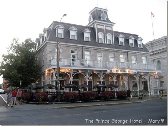 Prince George Hotel in Kingston Ontario