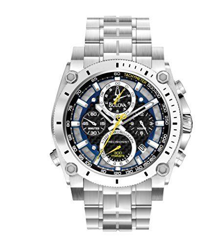 "Bulova Men's 96B175 ""Precisionist"" Stainless Steel Watch Bulova http://www.amazon.com/dp/B0088BMYN4/ref=cm_sw_r_pi_dp_WIsrub0HSTACS"