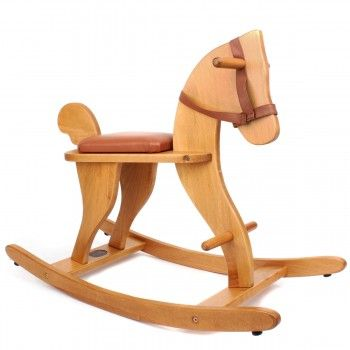 Moulin Roty Classic Wooden Rocking Horse | AlexandAlexa