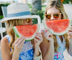 Summer pictures done with watermelon:)