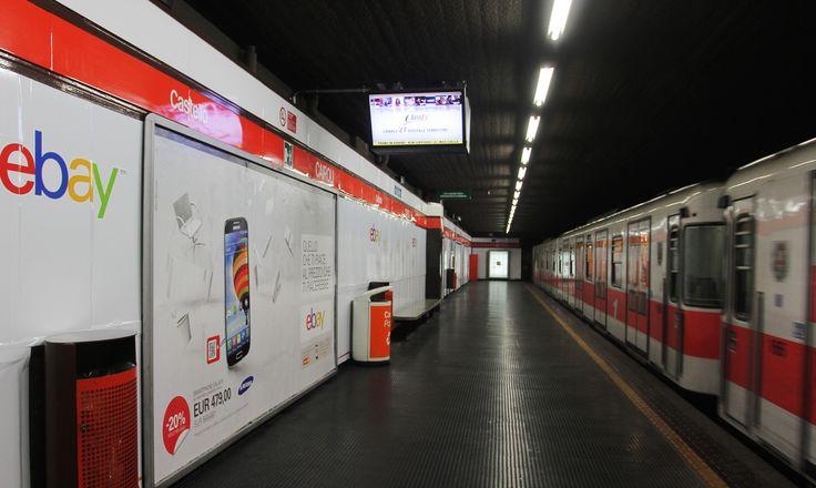 Lato A della metro di Cairoli