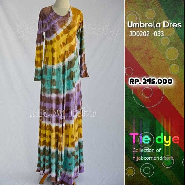 Tiedye collection of hijabcornerid
