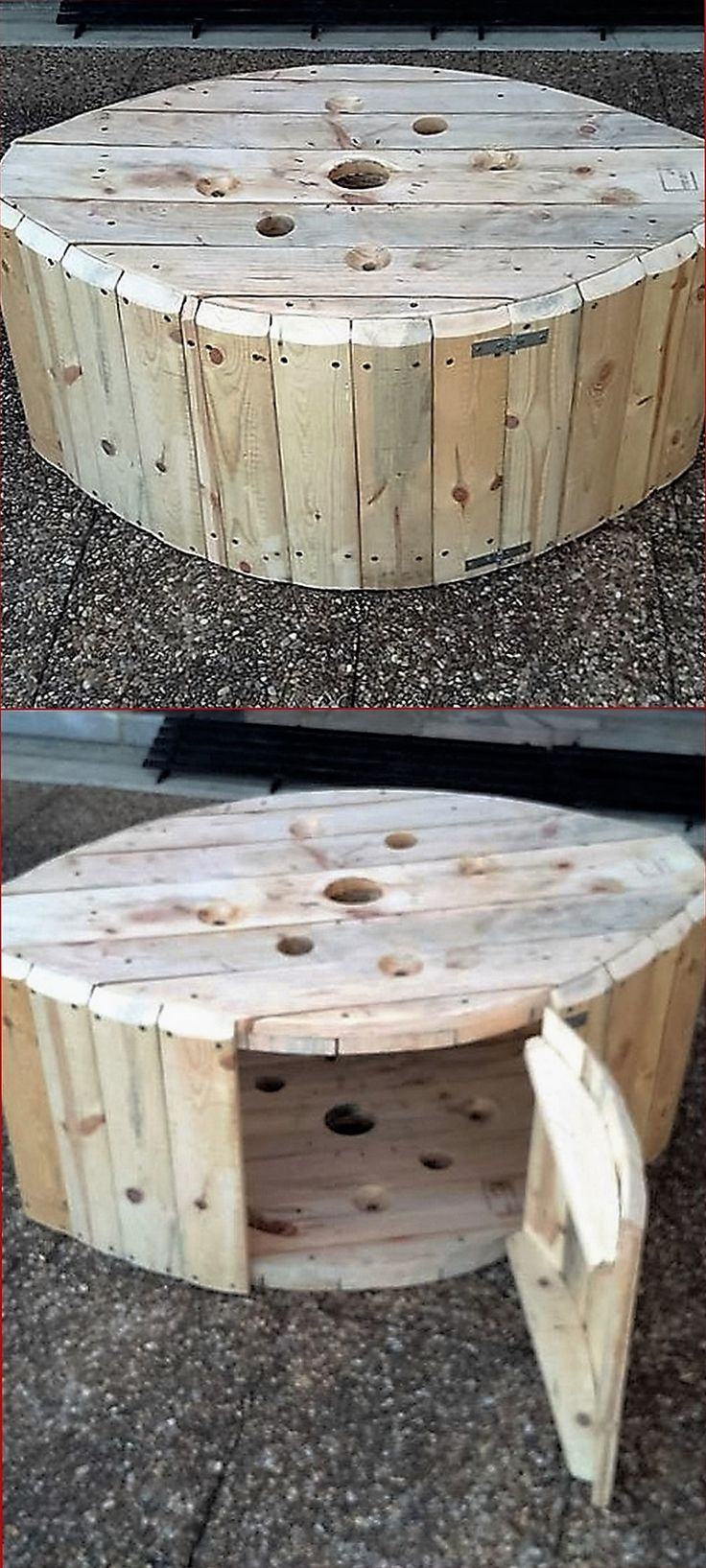 Whenever we make something out of the shipping pallets, we are actually giving a whole new life to this already used timber. This is a...