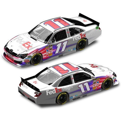 #11 Denny Hamlin 2012 Fedex Freight Frost Finish 1/24 Nascar Diecast Car Toyota Camry Action Platinum Series Lnc by Brickels. $80.95. #11 Denny Hamlin 2012 FedEx Freight Frost Finish 1/24 NASCAR Diecast Car Toyota Camry Action Platinum Series LNC