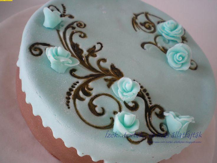 Kék-barna rózsa