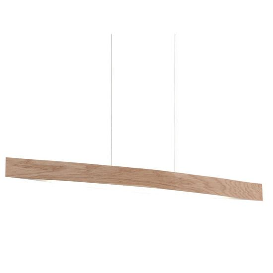 FORNES LED PENDANT WOOD OAK