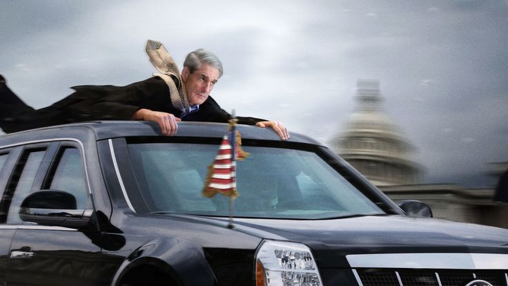 Presidential Limo Guns It Around Corner In Attempt To Toss Robert Mueller From Roof