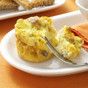 scrambled egg muffins - want to freeze these for good breakfasts