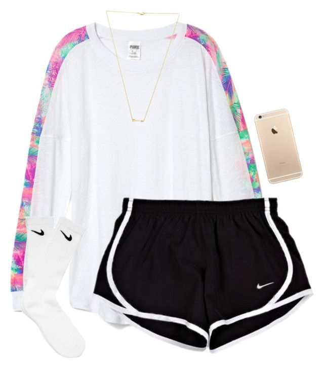 """""""Read d"""" by lydia-hh ❤ liked on Polyvore featuring Victoria's Secret PINK, Wanderlust + Co, NIKE, women's clothing, women's fashion, women, female, woman, misses and juniors"""