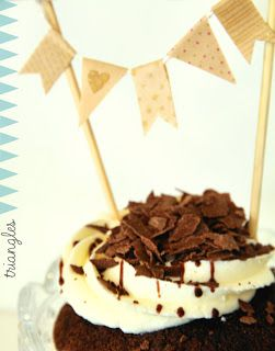 Triangles galore! Including our mini bunting kits via BeckaBonce: Beckabonce Loves... Triangles