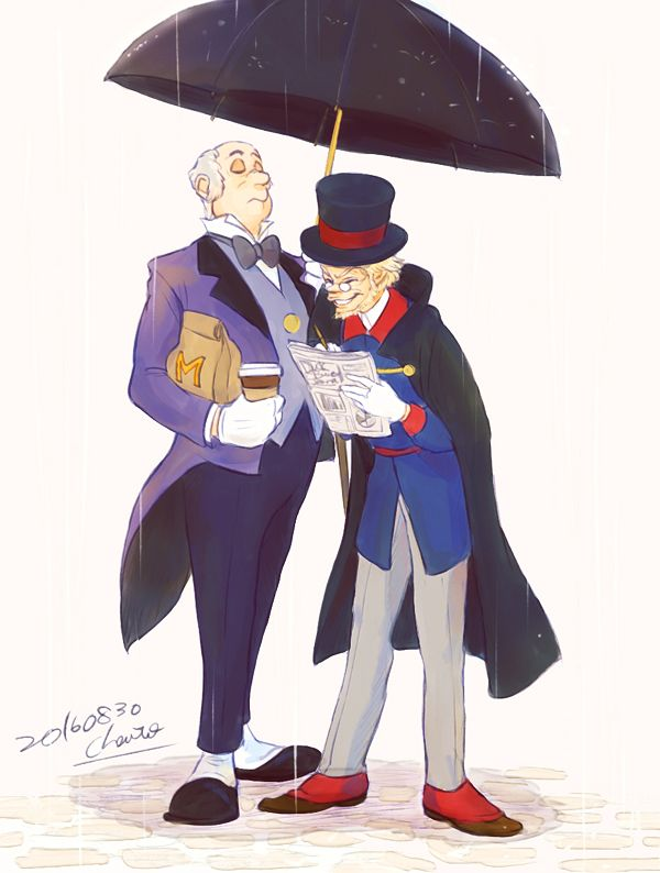 Scrooge McDuck and Duckworth by chacckco on DeviantArt