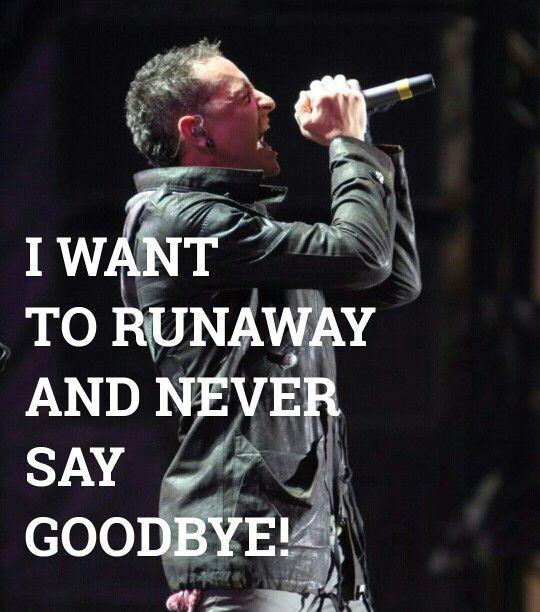 Runaway Hybrid Theory Chester Bennington Linkin Park @hybridbennoda IG edit