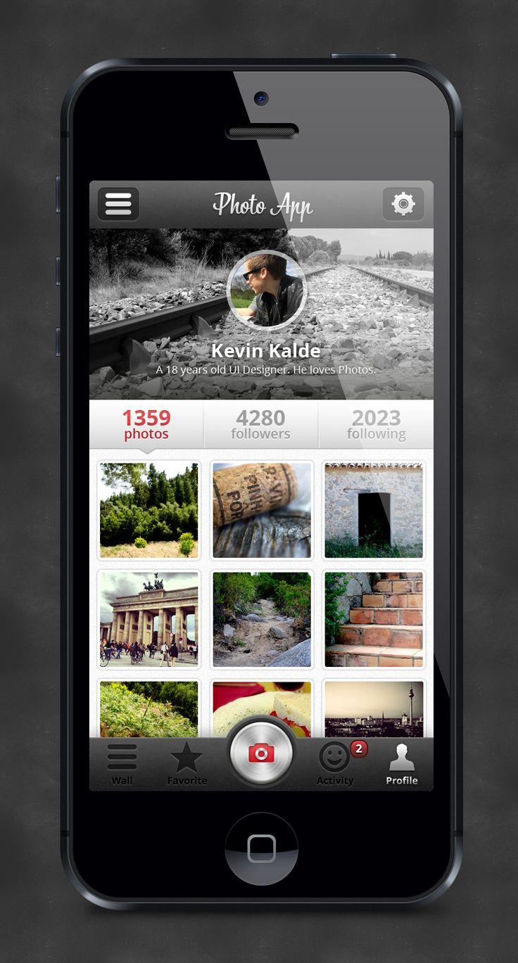 Photo App Profile by Kevin Kalde