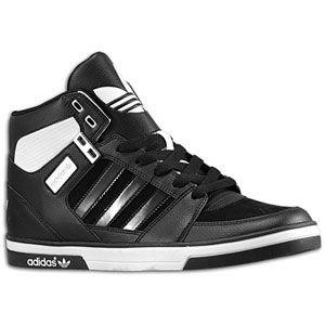 adidas Originals Hard Court Hi 2 - Mens - Black/White