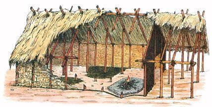 Reconstitution d 39 un habitat n olithique de charavines for La maison du cabriolet