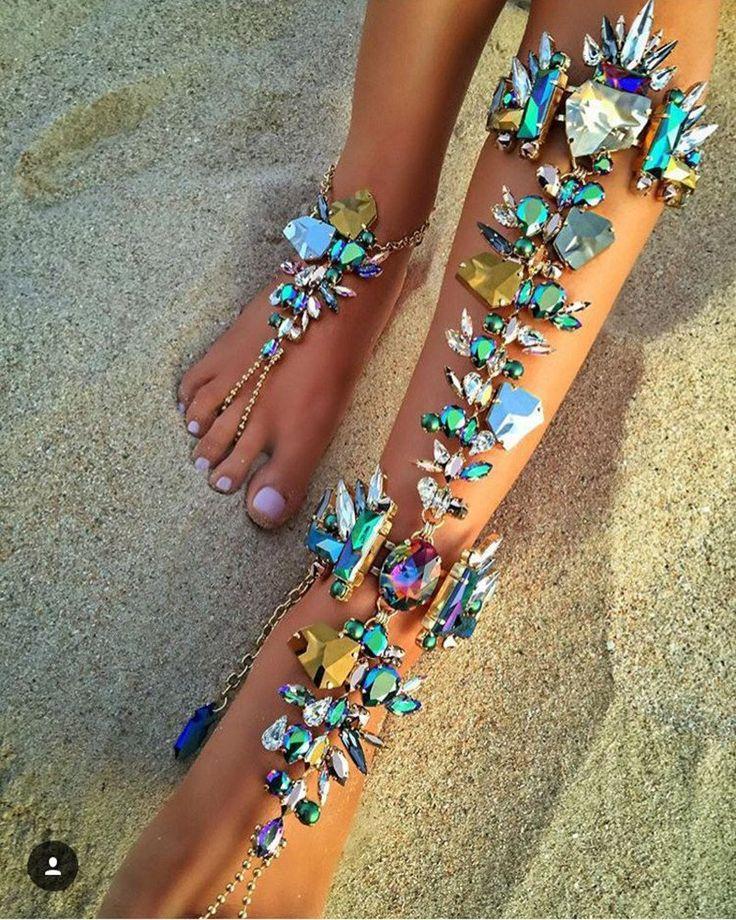 Boho Barefoot Sandals Beach Wedding Jewelry