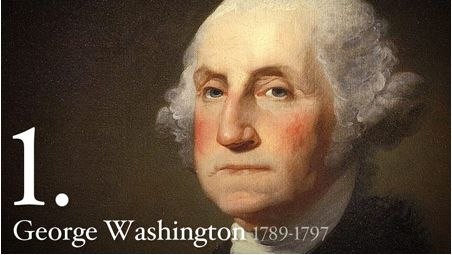 History of George Washington 1789-1797 #Election2012