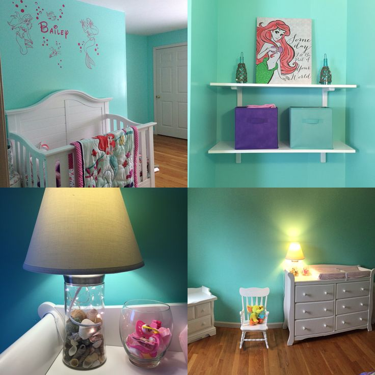 ideas about mermaid kids rooms on pinterest little mermaid room
