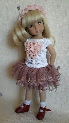 "Outfit for doll 13"" Dianna Effner Little Darling hand made"