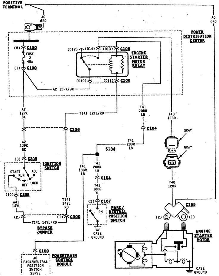 2002 Jeep Tj Ignition Wiring Diagram Wiring Schematic