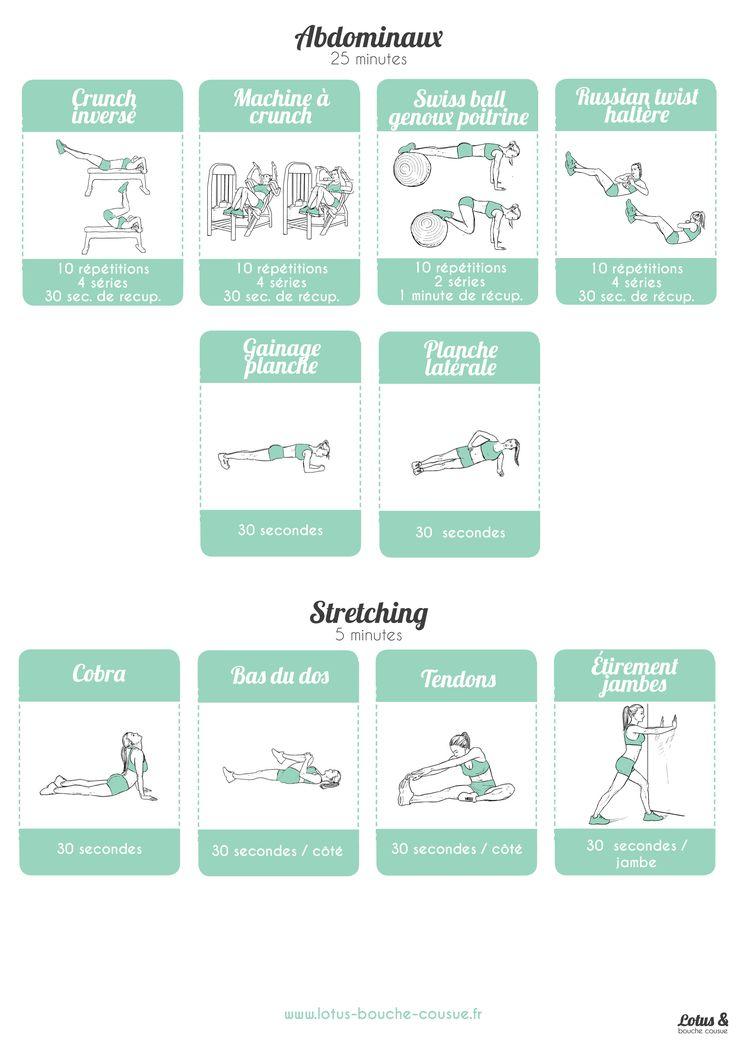 Programme bas du corps en salle de sport : une fiche gratuite à télécharger afin de savoir quelles machines utiliser et comment dans sa salle de sport.