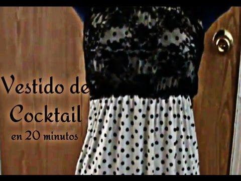 Como Hacer Un Vestido De Cocktail En 20 minutos (+playlist)