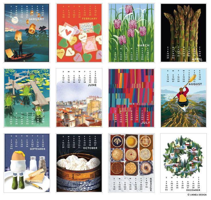 cool 2018 calendars