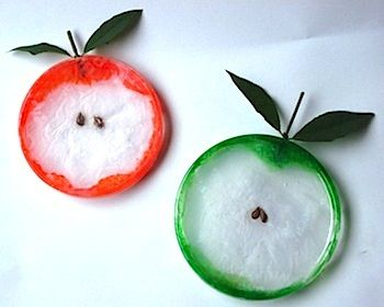 Apple Craft Ideas More fun crafts! --> http://sewmuchcraftiness.com/ #crafts