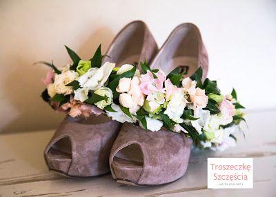 Troszeczkę Szczęścia: • Buty Panny Młodej •
