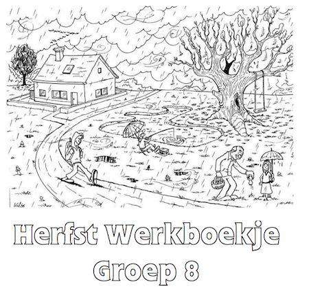 Herfst Werkboekje Groep 8