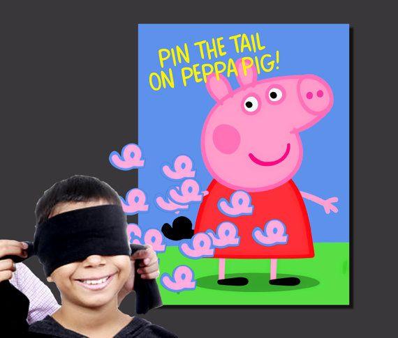 Peppa Pig Birthday Peppa Pig Party Game by 3rdStreetPrinting