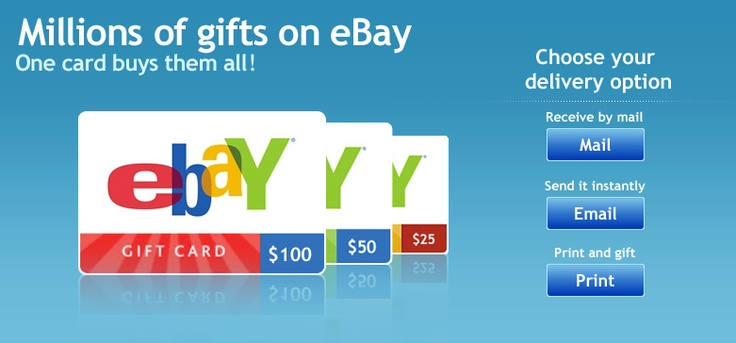 how to add ebay gift card