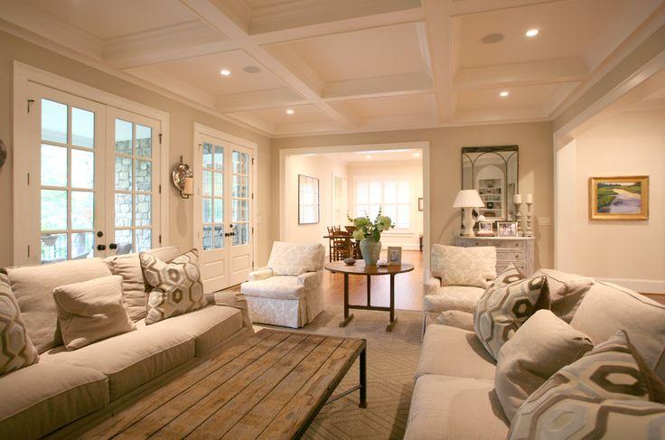 Living room lighting pinterest living rooms for Warm beige paint colors for living room