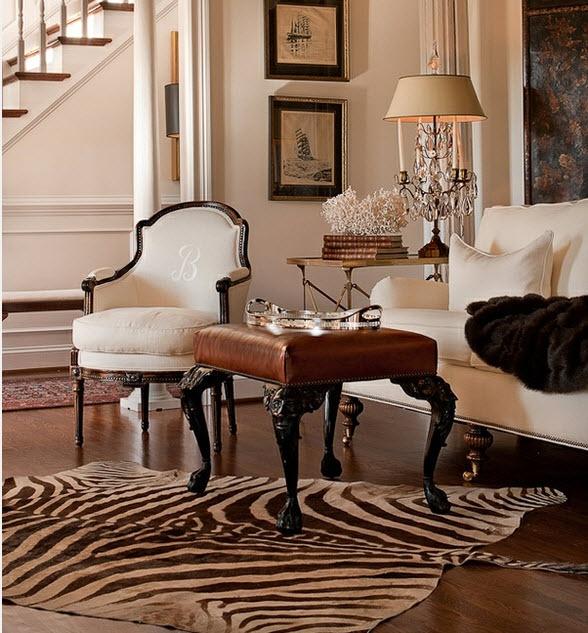 Love Love a zebra rug!