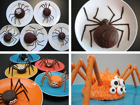 Class snack idea since this month's nursery rhyme is the itsy bitsy spider