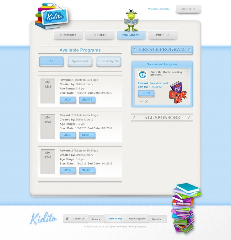 Kidito  {subpage}