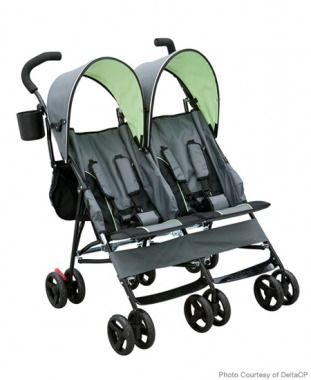 Lightweight DoubleTravel Stroller. 18 pounds, so you can check it at the gate when traveling
