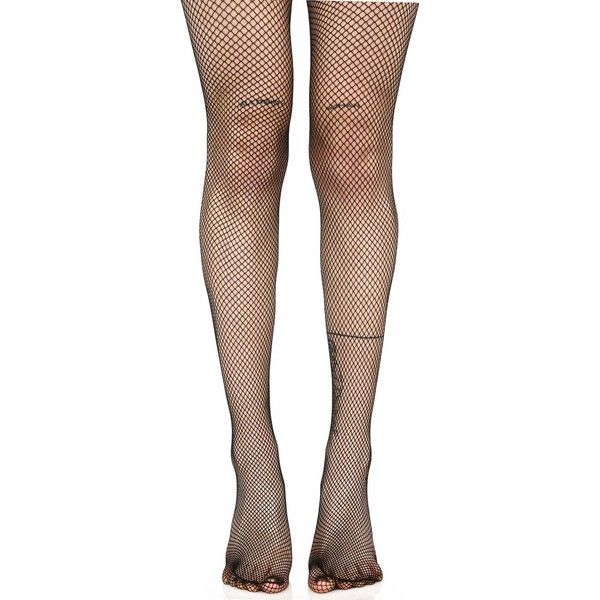 Demon Days Fishnet Tights (26 BRL) ❤ liked on Polyvore featuring intimates, hosiery, tights, fishnet hosiery, fishnet tights, leg avenue stockings, leg avenue hosiery and fishnet pantyhose