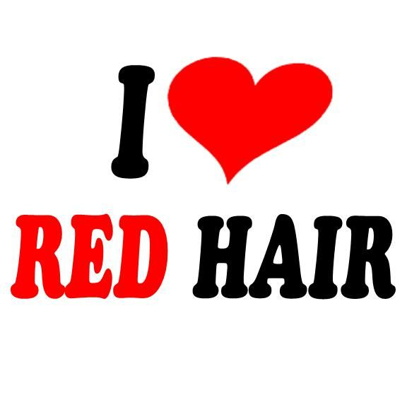 Happy National Love Your Red Hair Day! November 5th!