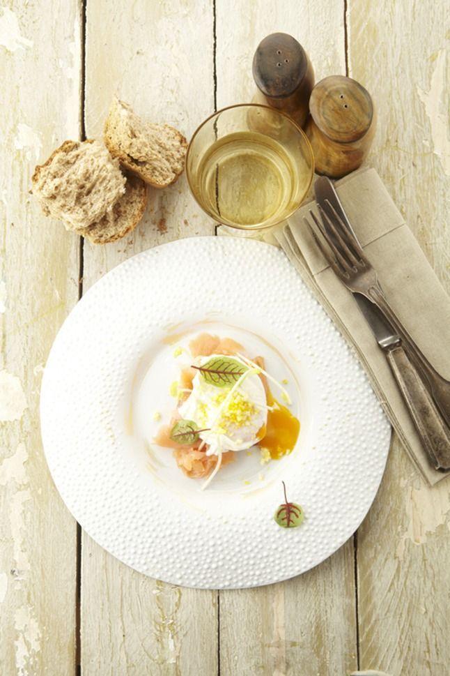 """Het lekkerste recept voor """"Gepocheerd eitje met gerookte zalm"""" vind je bij njam! Ontdek nu meer dan duizenden smakelijke njam!-recepten voor alledaags kookplezier!"""