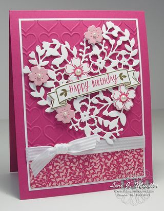 BloominHeart-CreativeInkingHop-Lori- Linda Bauwin Your CARD-iologist Helping you create cards from the heart. Our biggest sale of the year now through March 32, 2016 Receive free product with every $50 purchase at www.stampingwithlinda.com