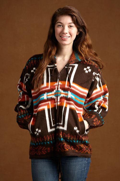 Earth Ragz® Native Style Sweater, Tan