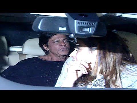 Shahrukh Khan SPOTTED at The Korner House, Mumbai.