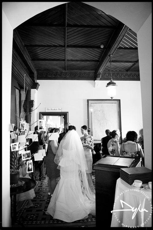 Wedding reception at Mount Falcon, Ballina