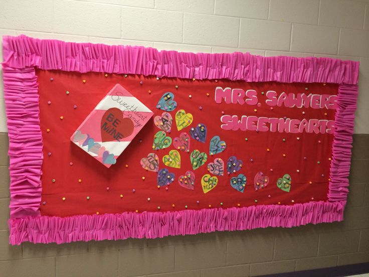 valentine's day bulletin boards ideas