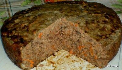 Печеночный пирог. Мультиварка или духовка.