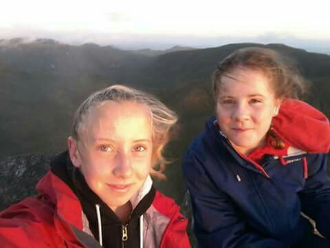 Facebook images of Heather Ineson hiking it looks like.